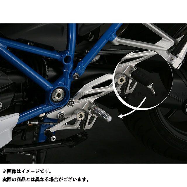 【無料雑誌付き】AELLA R1200R R1200RS ステップ ライディングステップバーキット:丸筒タイプ(BMW R1200R/RS) カラー:ブラック サイズ:77mm アエラ