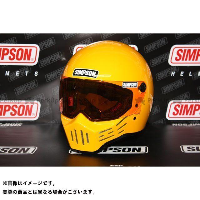 シンプソン SIMPSON フルフェイスヘルメット MODEL30 ヘルメット(イエロー) 57cm