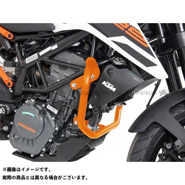 送料無料 HEPCO&BECKER 125デューク エンジンガード エンジンガード オレンジ