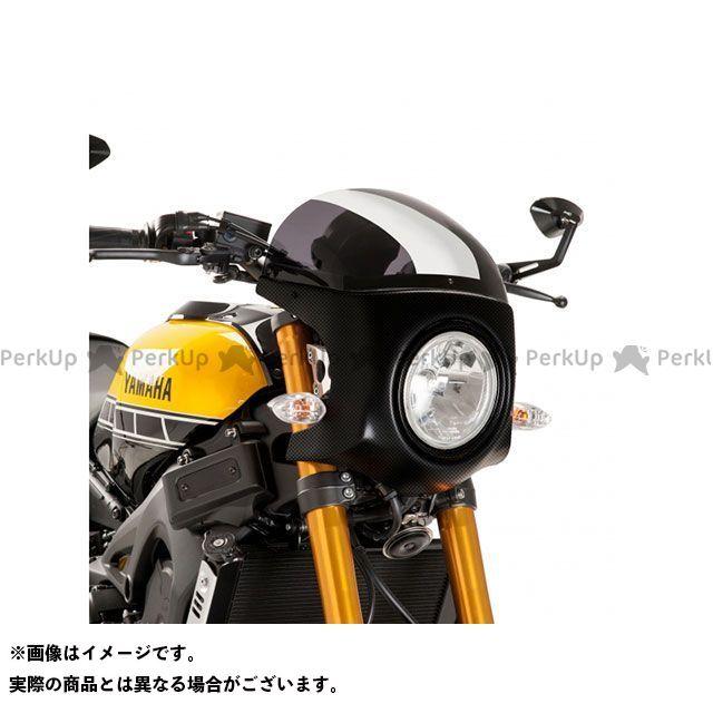 Puig XSR900 カウル・エアロ セミフェアリング レトロ 本体:ブラック スクリーン:ダークスモーク プーチ