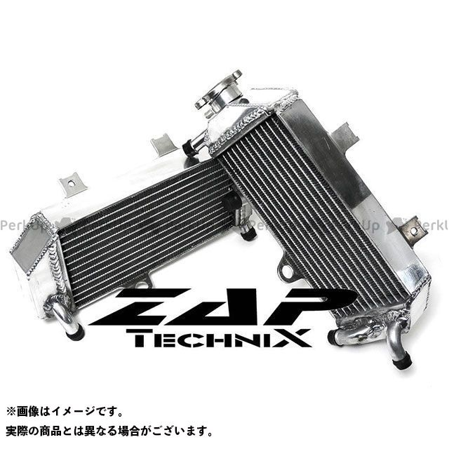 ZAPTECHNIX CRF250R ラジエター ZAP TECHNIX 40mmコア強化ラジエーター CRF250R 05-08  ザップテクニクス