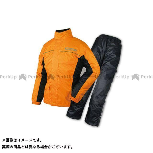 【特価品】ラフアンドロード レインウェア RR7806 デュアルテックスBIBレインスーツ(オレンジ) サイズ:XL ラフ&ロード