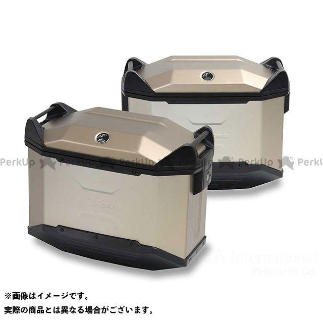 HEPCO&BECKER ツーリング用バッグ サイドケース Xceed / エクシード カラー:シャンパンゴールド 仕様:右 ヘプコアンドベッカー