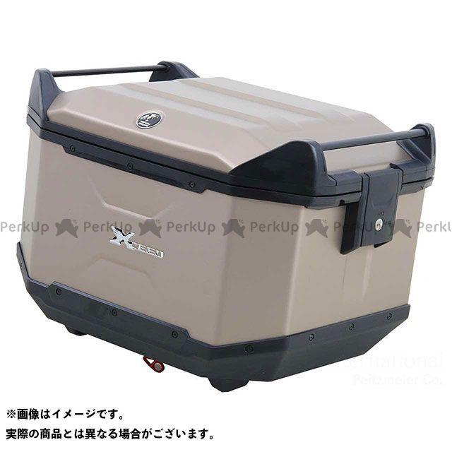 送料無料 ヘプコアンドベッカー HEPCO&BECKER ツーリング用ボックス トップケース Xceed / エクシード シャンパンゴールド