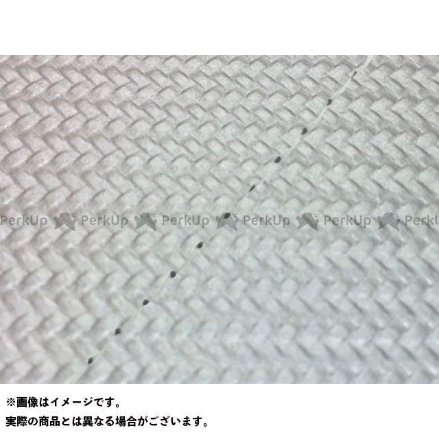 Grondement スーパータクト シート関連パーツ スーパータクト(AF09) 国産シートカバー 張替 カーボン銀 仕様:透明ステッチ グロンドマン