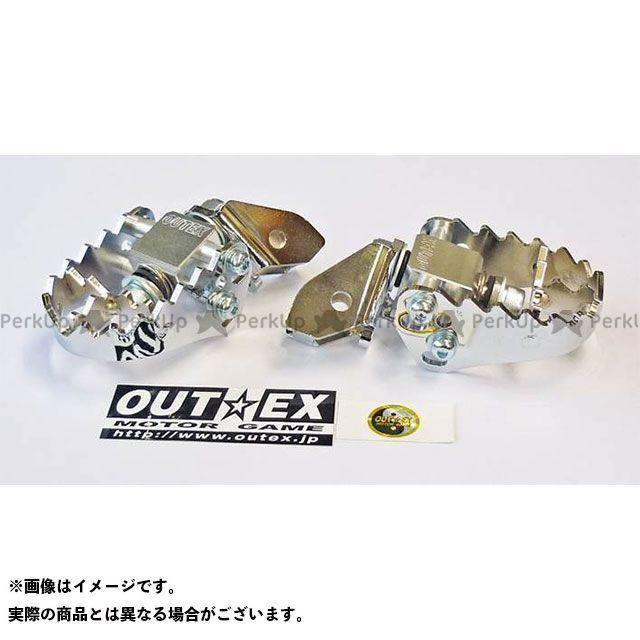 【無料雑誌付き】OUTEX CRF450R ステップ F-PEGワイド CRF450R アウテックス