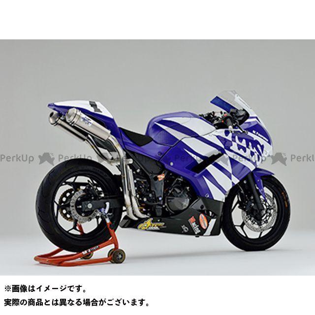 ティーティーエス ニンジャ250 ニンジャ250R マフラー本体 デュアルレーシングマフラー Ninja250 TTS