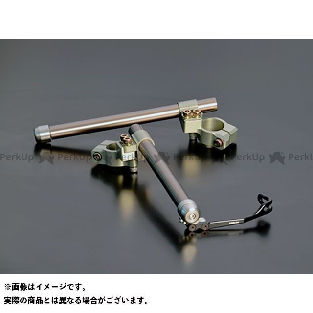ティーティーエス CBR250R ハンドル関連パーツ レーシングハンドルキット CBR250R(14-) 7.5°VC&LB TTS