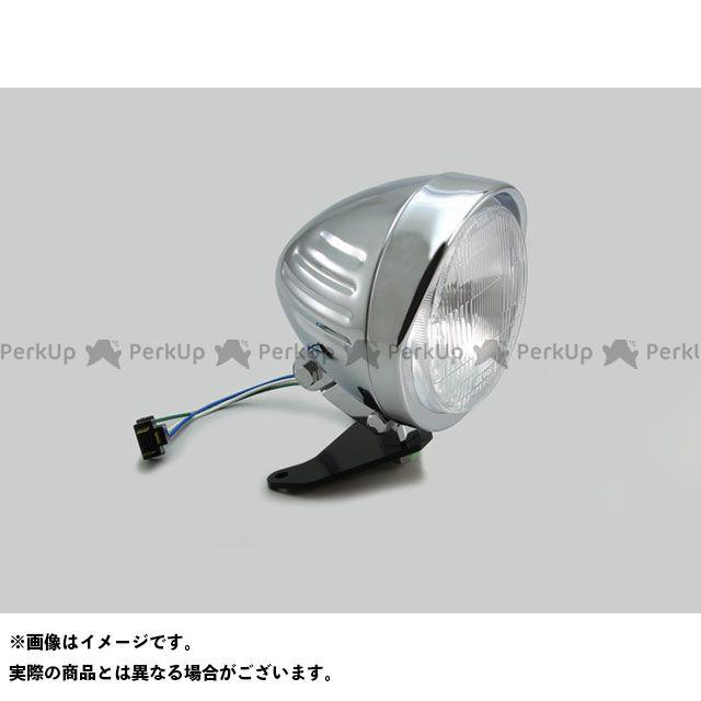 送料無料 HURRICANE レブル250 レブル500 ヘッドライト・バルブ 5.5ハイパワースリットヘッドライトキット(クロームメッキ)