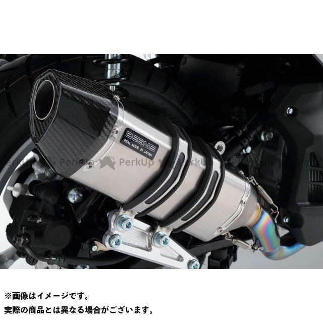 BEAMS エヌマックス125 マフラー本体 CORSA-EVO II マフラー チタン 政府認証 ビームス