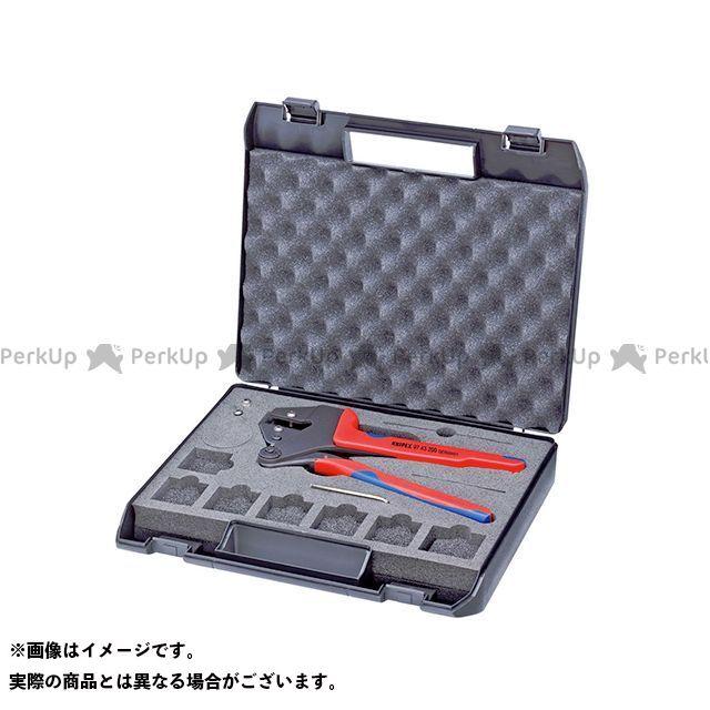 クニペックス ハンドツール 9743-200 クリンピングシステムプライヤー KNIPEX