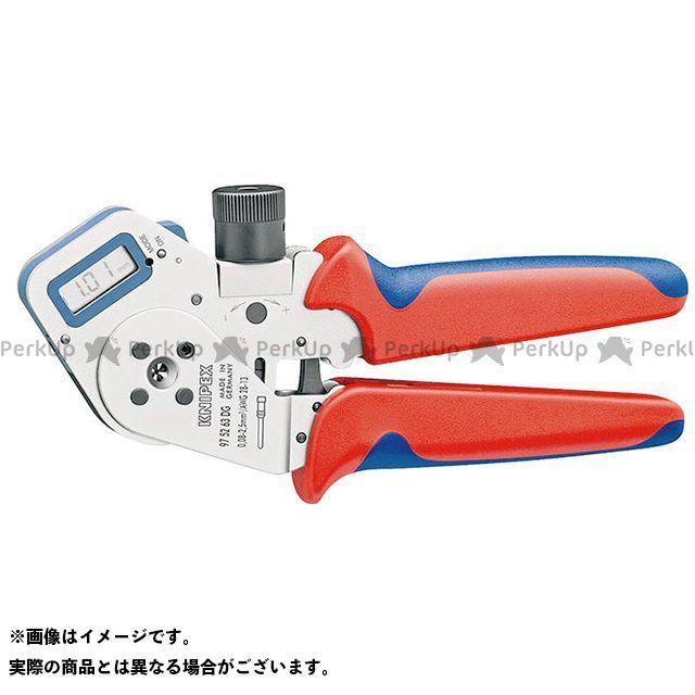 【無料雑誌付き】KNIPEX ハンドツール 9752-63DG デジタル圧着 ペンチ クニペックス