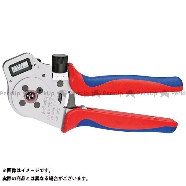 クニペックス ハンドツール 9752-65DGA デジタル圧着ペンチ ロケーターなし  KNIPEX