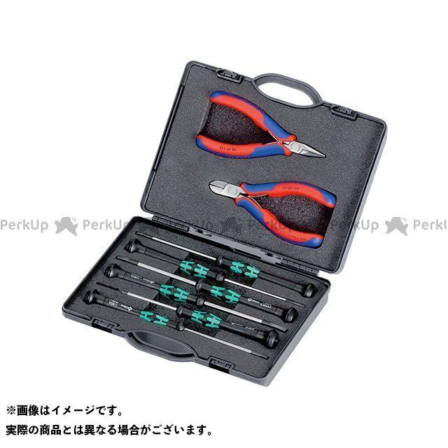 KNIPEX クニペックス ハンドツール 工具 クニペックス ハンドツール 002018 エレクトロニクスプライヤーセット  KNIPEX