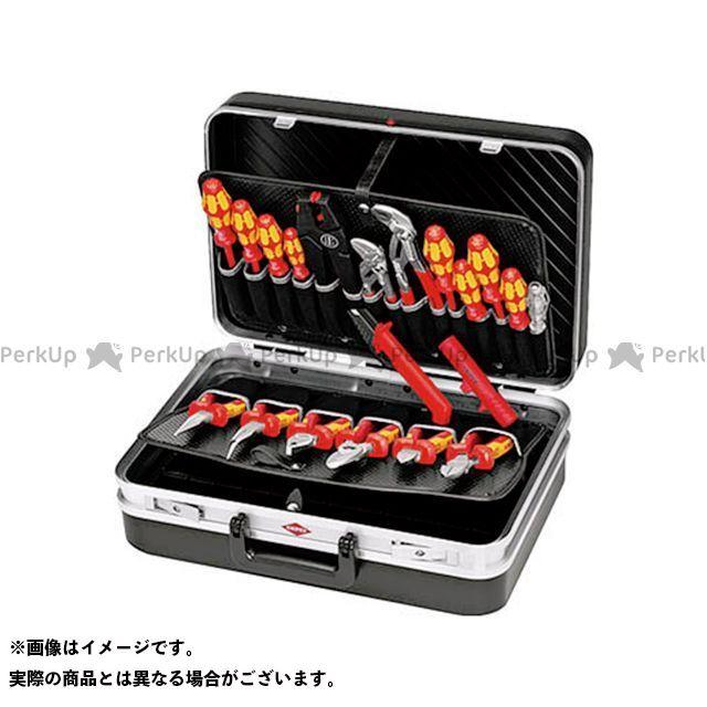 クニペックス 作業場工具 002120 ツールケースセット  KNIPEX