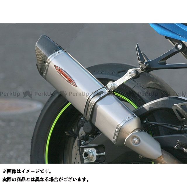 【エントリーで最大P21倍】STRIKER GSX-R1000 マフラー本体 RACING CONCEPT INTER MODEL スリップオン OFF-Type タイプB サイレンサー:チタンヒートカラー ストライカー