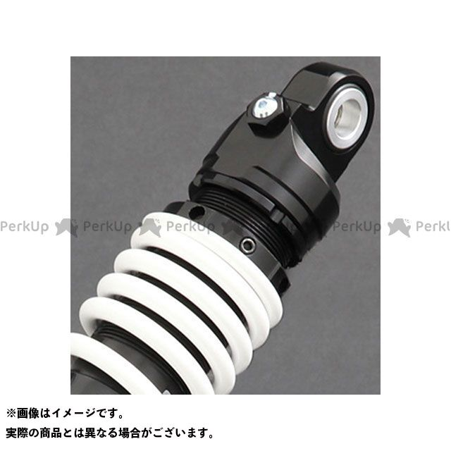YSS RACING ZRX1100 ZRX1200 リアサスペンション関連パーツ Sports Line SII 362 360mm ボディカラー:ブラック スプリングカラー:ホワイト YSS