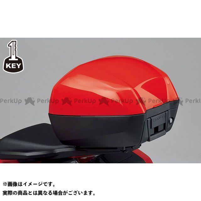 ホンダ VFR800X クロスランナー ツーリング用ボックス トップボックス 33L ワン・キー・システムタイプ(キャンディーアルカディアンレッド) Honda