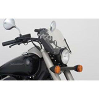 【エントリーでポイント10倍】送料無料 Honda シャドウ ファントム 750 スクリーン関連パーツ ブルバードスクリーン スモークタイプ