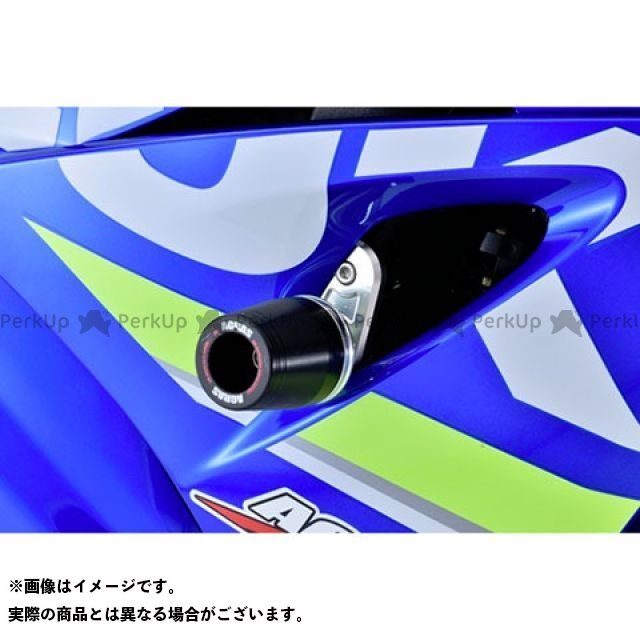 AGRAS GSX-R1000 スライダー類 レーシングスライダー ジュラコンカラー:ブラック タイプ:ロゴ無 アグラス