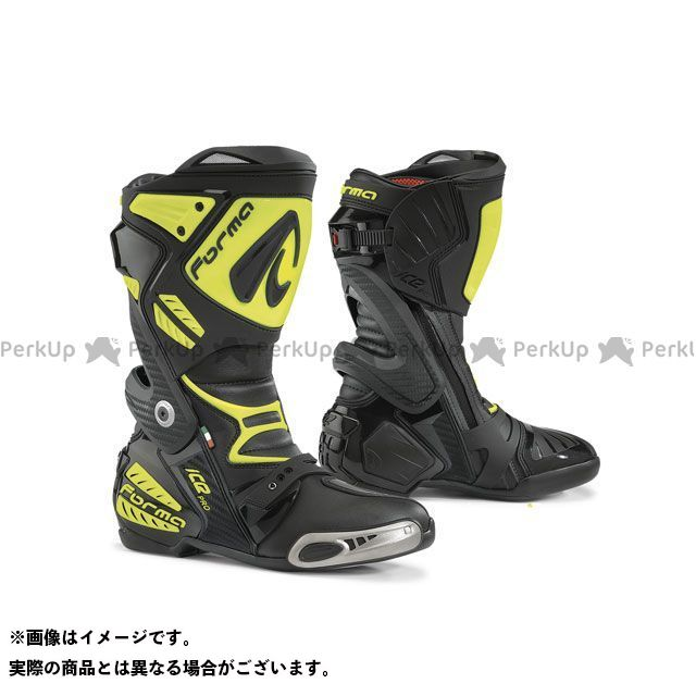 フォーマ レーシングブーツ ICE PRO レーシングブーツ(ブラック/イエローフロー) 43/27.0cm FORMA