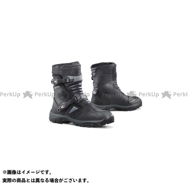 フォーマ ライディングブーツ ADVENTURE LOW ブーツ(ブラック) サイズ:42/26.5cm FORMA