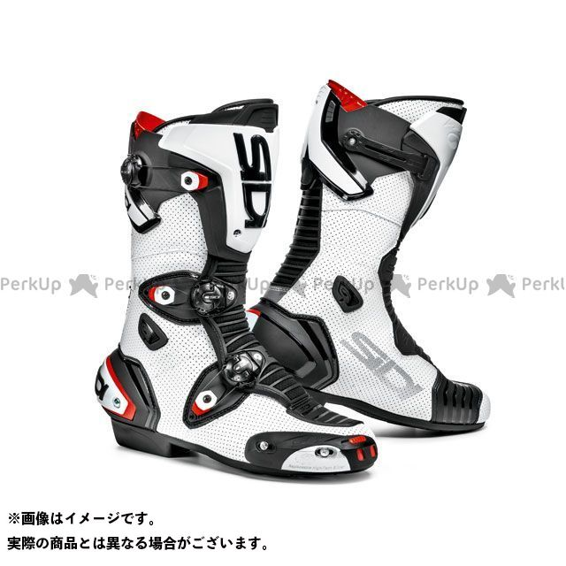 SIDI シディ レーシングブーツ バイクシューズ・ブーツ シディ レーシングブーツ MAG-1 AIR レーシングブーツ(ホワイト/ブラック) 39/25.0cm SIDI