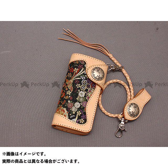 送料無料 DEGNER デグナー 財布 W-9AK レザーウォレット(花宝/タン)