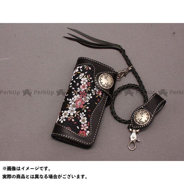 デグナー 財布 W-9AK レザーウォレット(京桜/ブラック) DEGNER