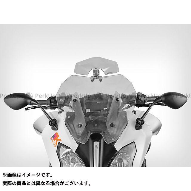 【エントリーで更にP5倍】Wunderlich R1200RS スクリーン関連パーツ ERGO-VARIO アジャスタブル スクリーンスポイラー カラー:スクリーン:クリアー/ステー:シルバー ワンダーリッヒ