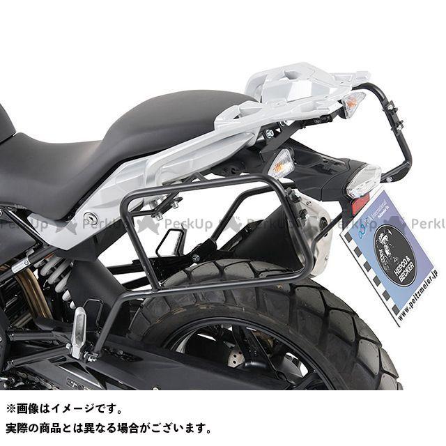 HEPCO&BECKER G310GS キャリア・サポート サイドケースホルダー(キャリア) Lock it system BMW G310GS(ブラック) ヘプコアンドベッカー