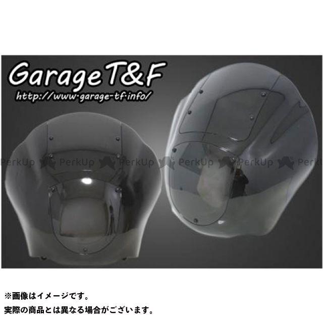 ガレージティーアンドエフ スティード400 カウル・エアロ フェアリングカウルキット スクリーンカラー:スモーク ガレージT&F
