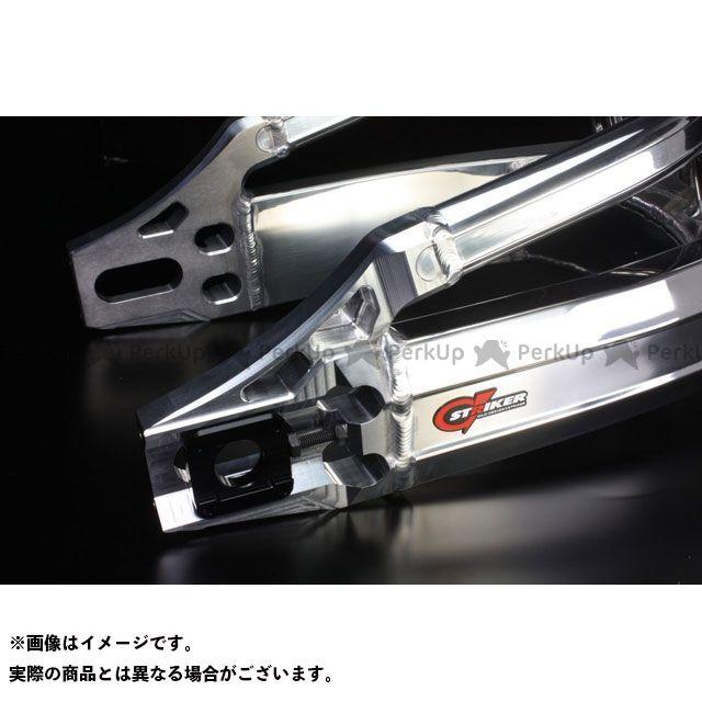 【エントリーでポイント10倍】 ストライカー 隼 ハヤブサ スイングアーム G-STRIKER スイングアーム パワーディメンション Type-S(~07) バフ仕上げ レッドアルマイト