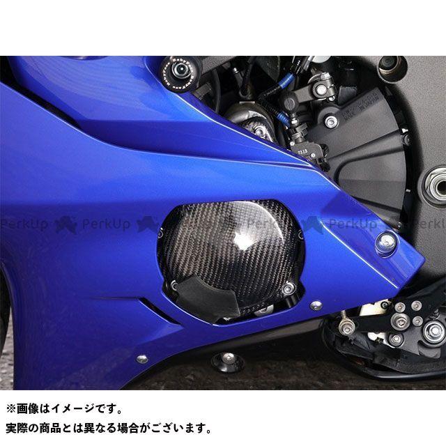 才谷屋ファクトリー YZF-R6 エンジンガード エンジンプロテクター/左側 カーボン綾織