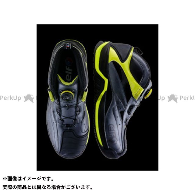 送料無料 elf shoes エルフシューズ メカニックシューズ ギアテック 01(アシッド) 27.5cm