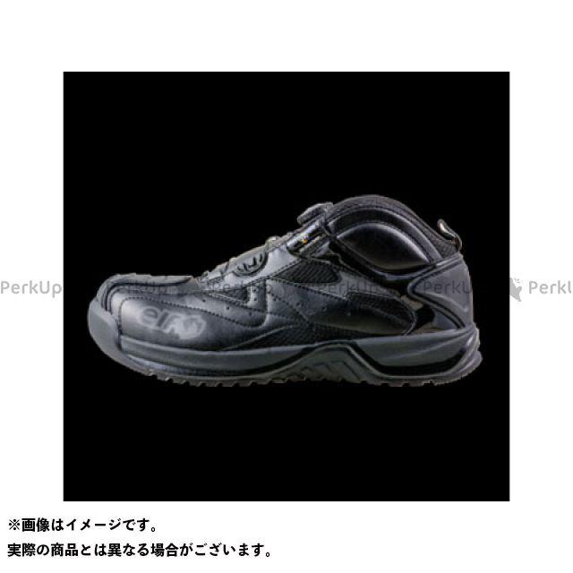 エルフシューズ メカニックシューズ ギアテック 01(ブラック) サイズ:25.0cm elf shoes