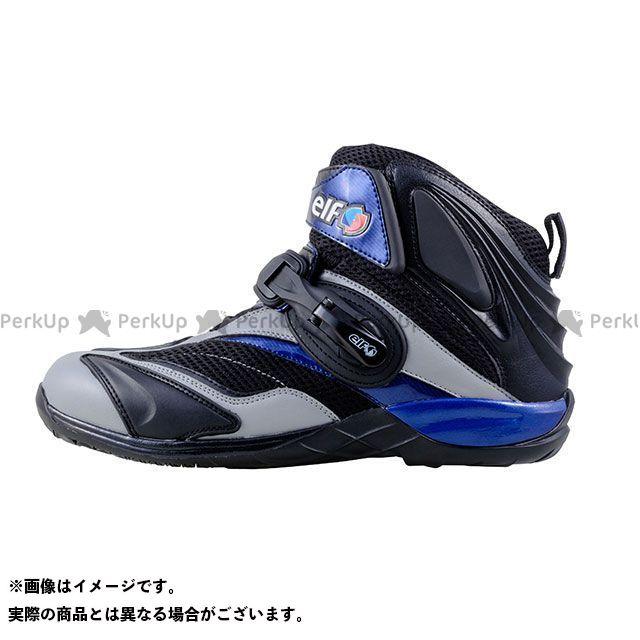 エルフシューズ ライディングシューズ ELF15 Synthese15(シンテーゼ15) グレー/ネイビー サイズ:24.5cm elf shoes