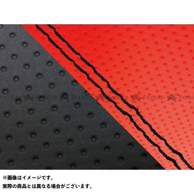 Grondement ダンク シート関連パーツ ダンク(AF74) 国産シートカバー 張替 エンボスレッド&エンボス黒 仕様:黒ダブルステッチ グロンドマン
