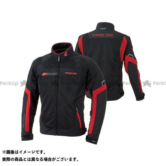アールエスタイチ ジャケット RSJ320 クロスオーバー メッシュ ジャケット(ブラック/レッド) サイズ:S RSタイチ