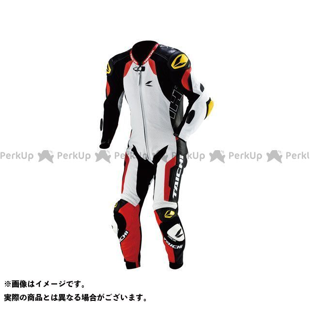 RSタイチ アールエスタイチ レーシングスーツ NXL107 GP-EVO R107 RACING SUIT FOR TECH-AIR(レッド) M/スリム