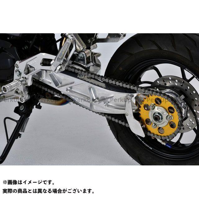 送料無料 OVER RACING グロム スイングアーム スイングアーム モノアーム GP-TEN 3.00-12(ブラック)