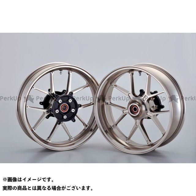 OVER RACING TMAX530 ホイール本体 GP-TEN ホイールセット F3.50/R5.00-15(チタン) オーバーレーシング