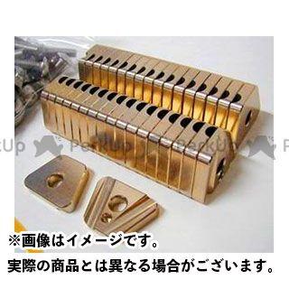 【エントリーで更にP5倍】OUTEX CRF250R CRF450R ハブ・スポーク・シャフト スポークブースター フロント用 カラー:ゴールドアルマイト アウテックス
