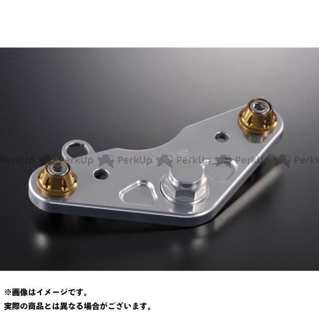 AGRAS モンキー トップブリッジ関連パーツ 純正ハンドル用トップブリッジ 警告灯ステー付/7mmUP ゴールド アグラス