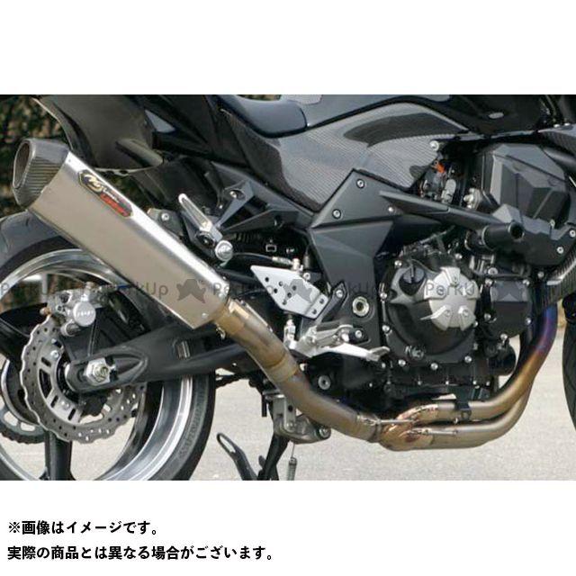 NOJIMA Z1000 マフラー本体 LOCK-ON TYPE-SC チタンフルエキゾースト(カーボンエンド) タイプ:機械曲げチタン ノジマ