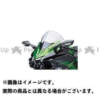 KAWASAKI ニンジャH2(カーボン) スクリーン関連パーツ 大型ウインドスクリーン(クリア) カワサキ