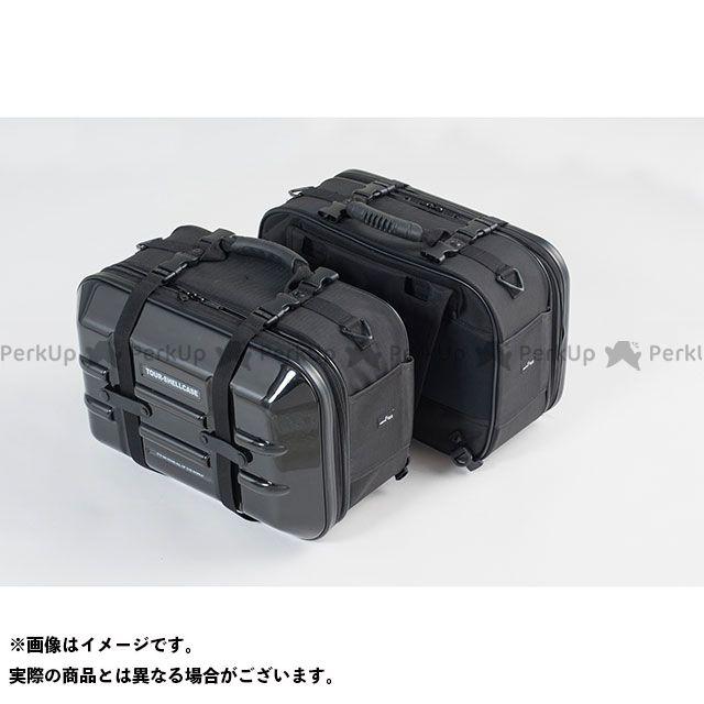 TANAX ツーリング用ボックス MOTO FIZZ ツアーシェルケース2(ブラック) タナックス