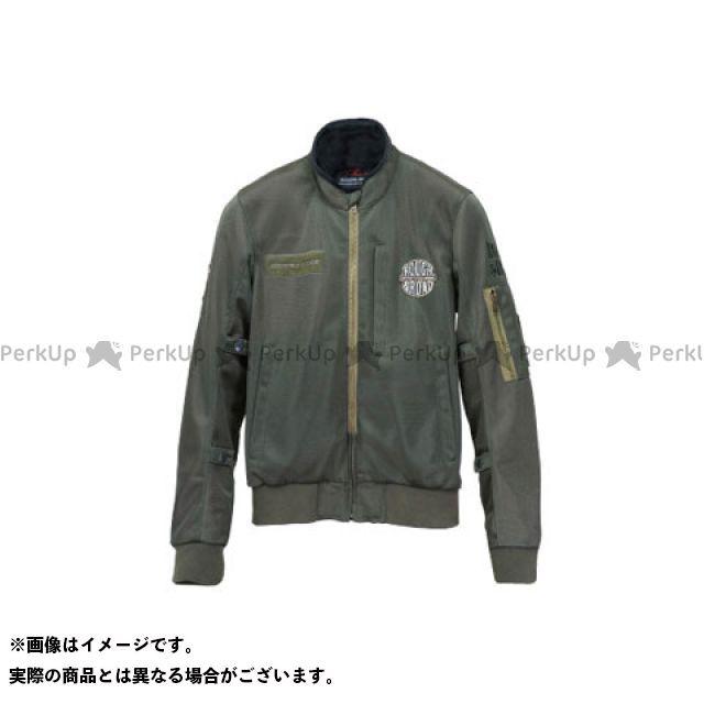 ラフアンドロード ジャケット RR7334 MA-1R メッシュジャケット(オリーブ) サイズ:L ラフ&ロード
