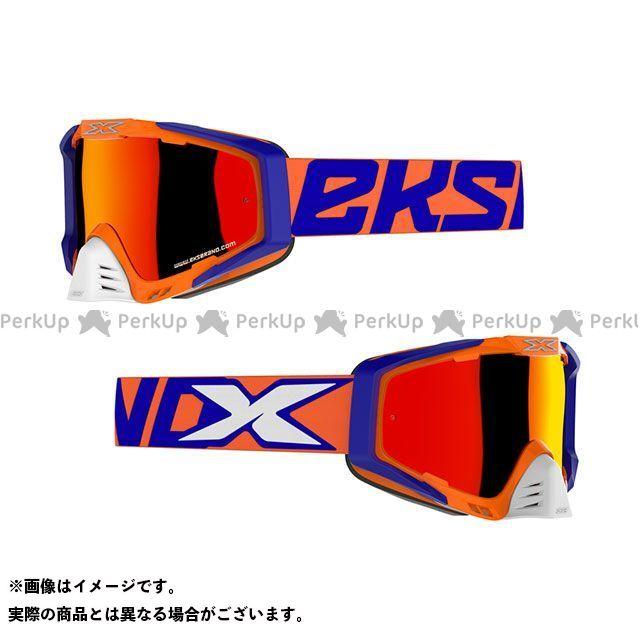 EKS Brand ゴーグル本体 EKS-S(エックス・エス) ゴーグル フローオレンジ/ブルー/ホワイト イクスブランド