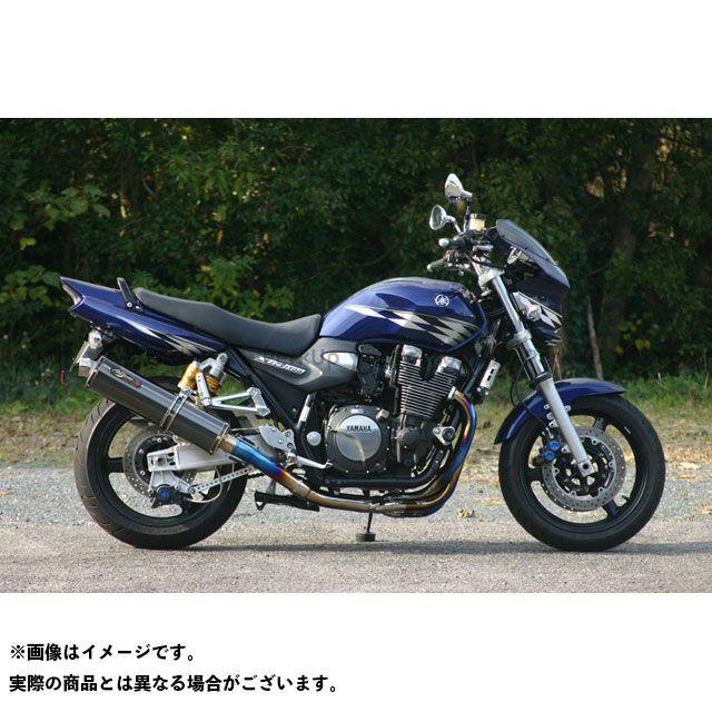 NOJIMA XJR1300 マフラー本体 DLC-TITAN TYPE-SC フルエキゾーストマフラー ノジマ